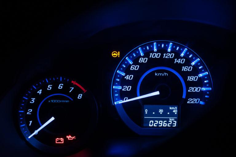 Car Terms,เลขไมล์