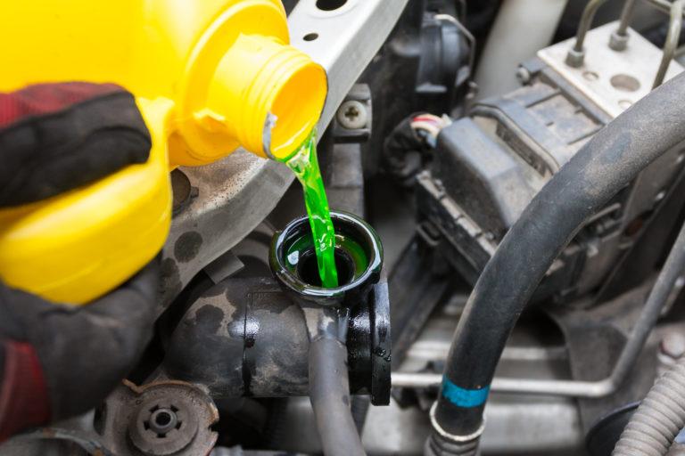 Car Terms,น้ำหล่อเย็น,น้ำยาหม้อน้ำ,