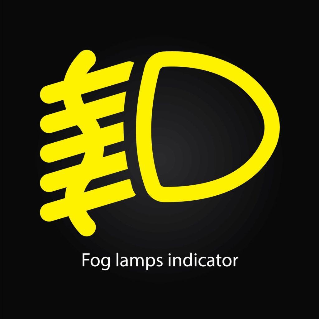 ไฟตัดหมอกด้านหน้าและหลัง (Front and rear fog lamps)