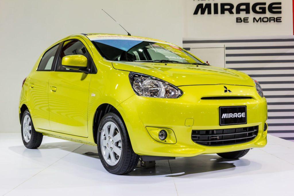 รถ Hatchback มือสอง: Mitsubishi Mirage