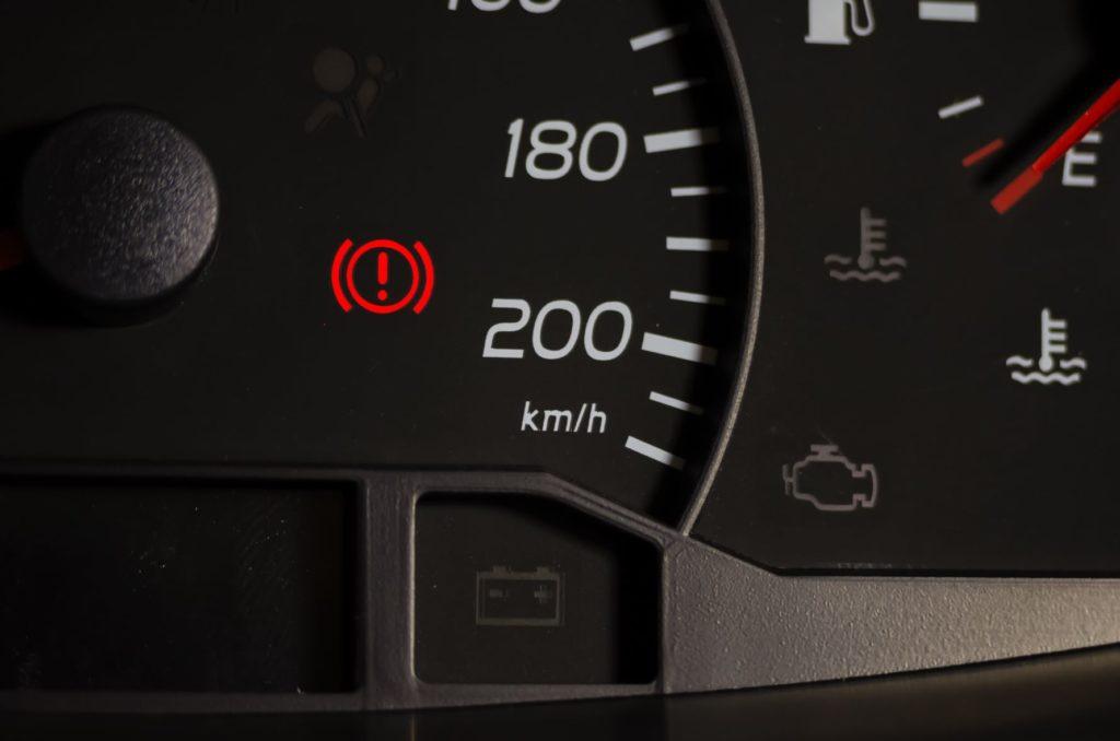 สัญญาณเตือนเบรก (Brake warning indicator)