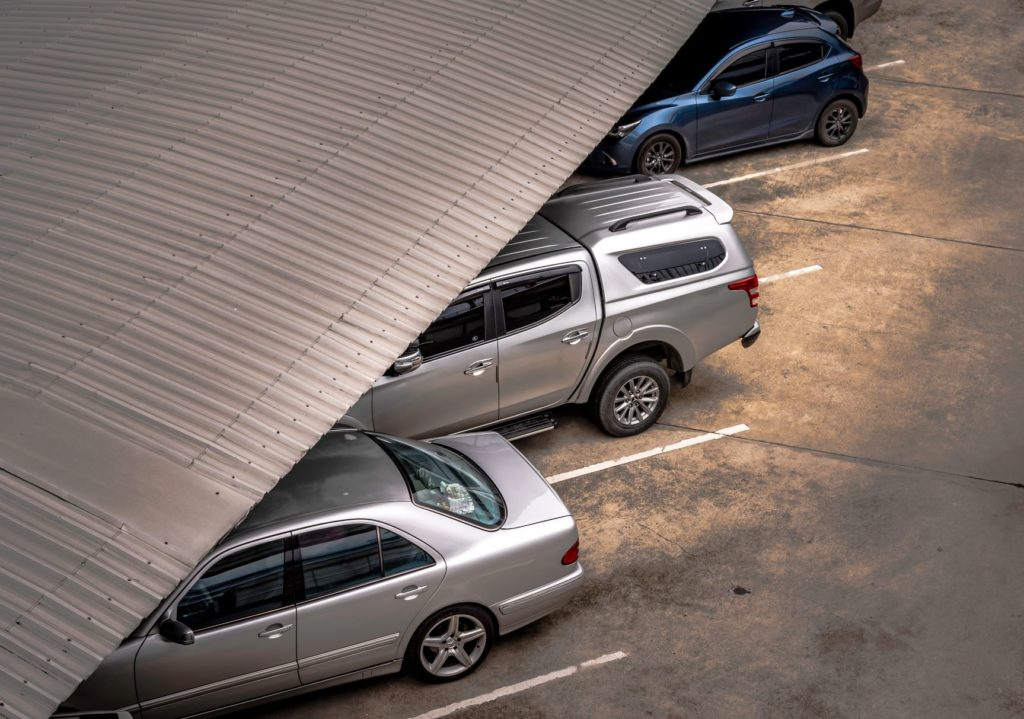 เก็บรถในสถานที่ไม่ก่อให้เกิดสนิม